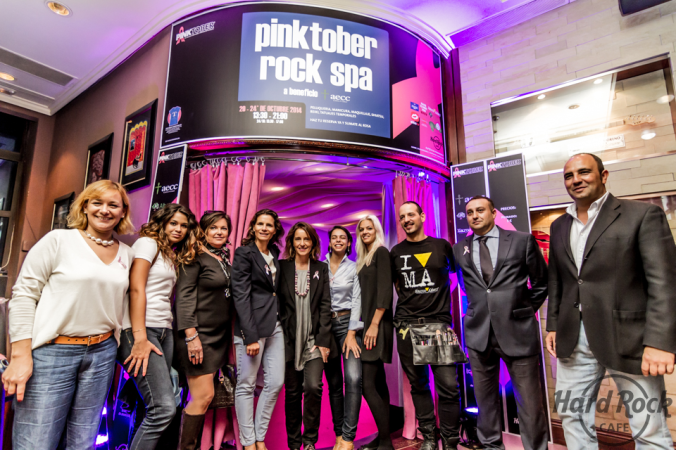 Colaboradores Hard Rock Spa